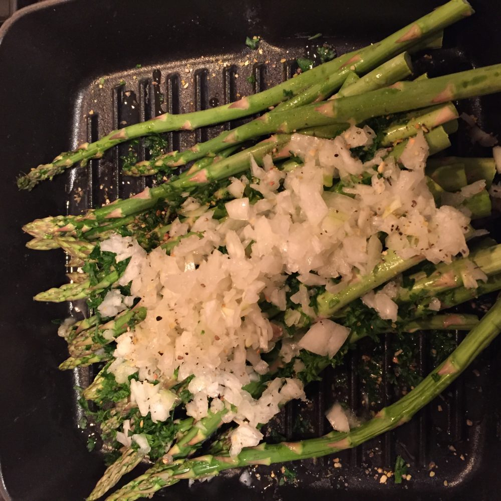 Lemon Grilled Seasoned Asparagus