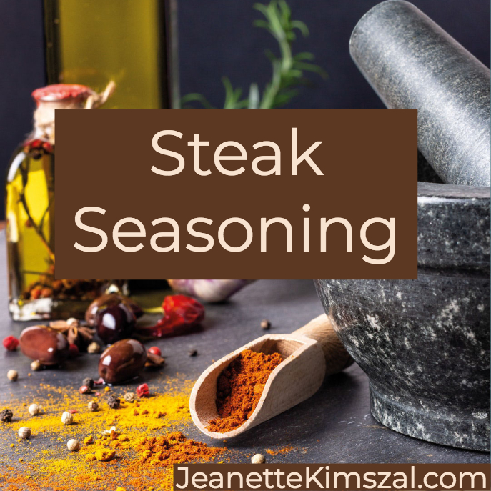 Learn How to Season Steak with this Easy Steak Spice Rub | Jeanette Kimszal, RDN