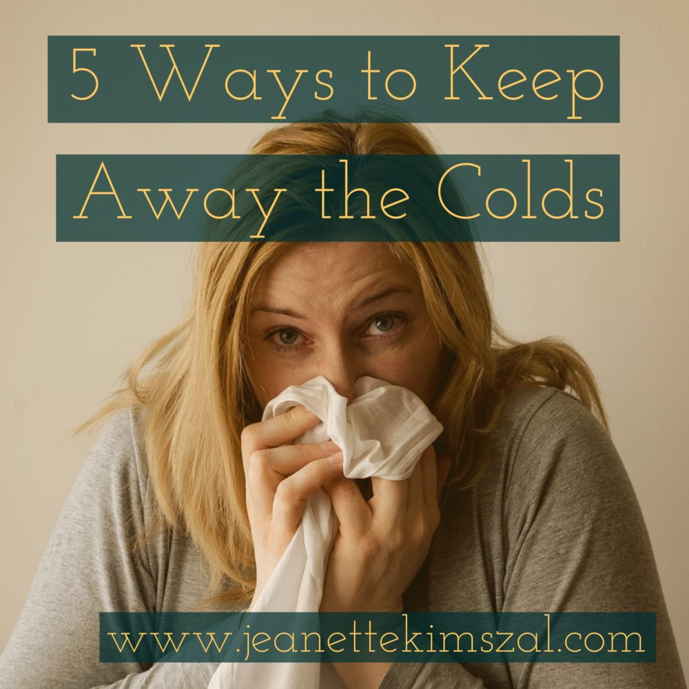 5 Ways to Keep Away the Colds