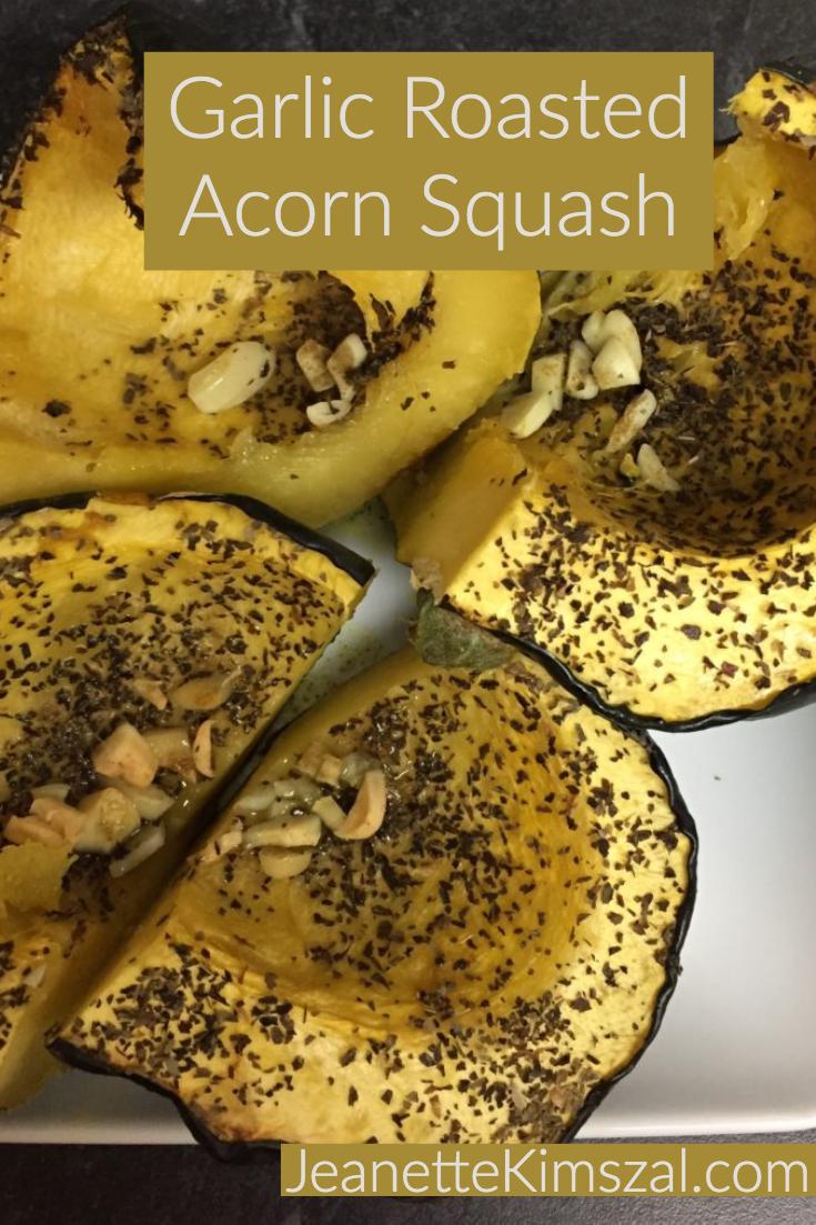 Garlic Roasted Acorn Squash