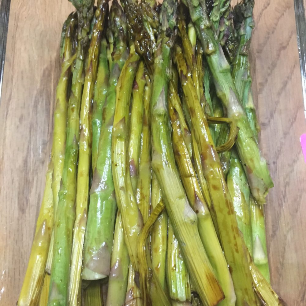 Balsamic Garlic Asparagus