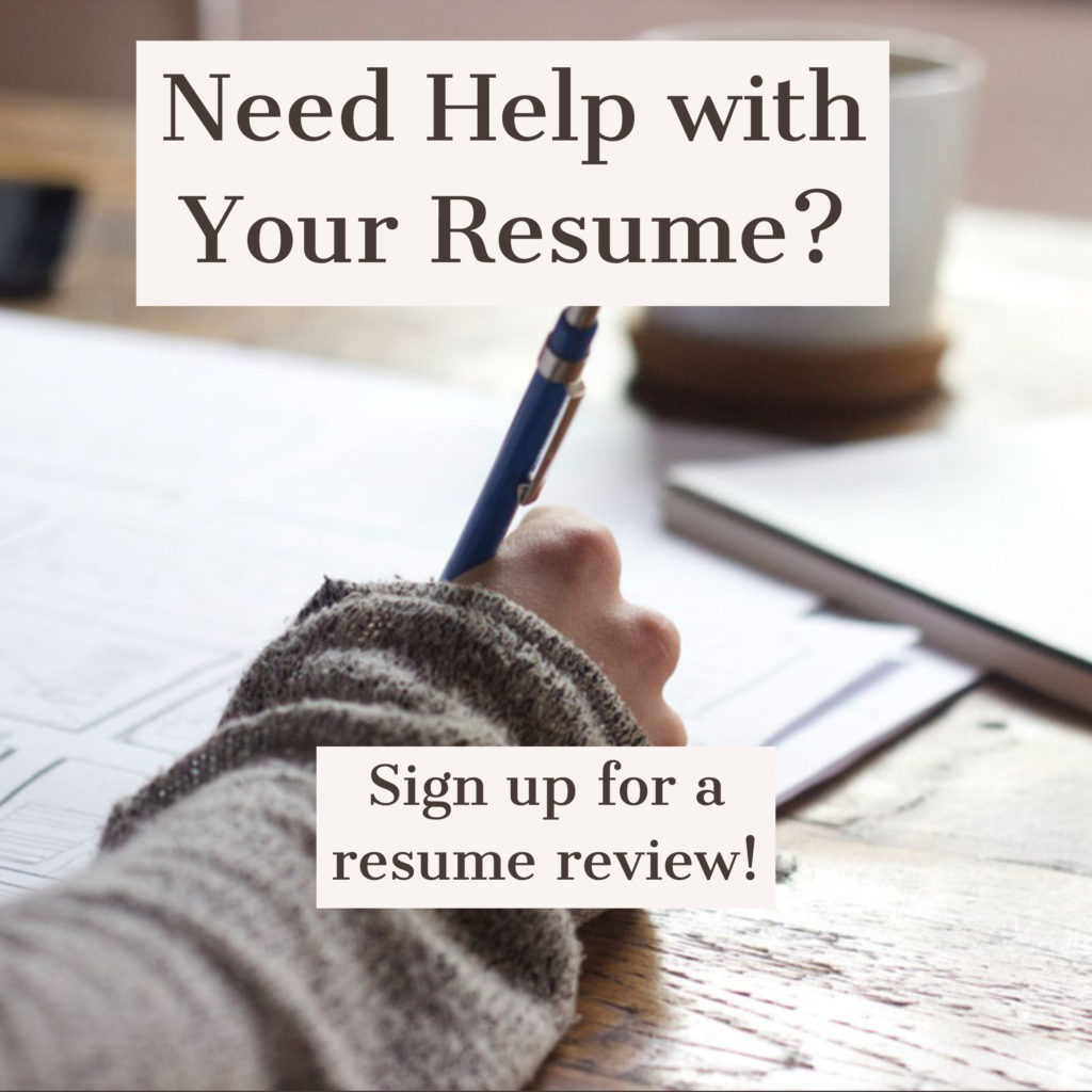 Resume Writing Services - Jeanette.