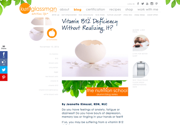 Cracked Egg with B12 Vitamin Deficiency | Content Creation Services |Root Nutrition and Education
